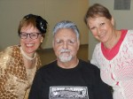 Laura, Graham, Astrid at the CCC's Cultural Collaboration, October 2014
