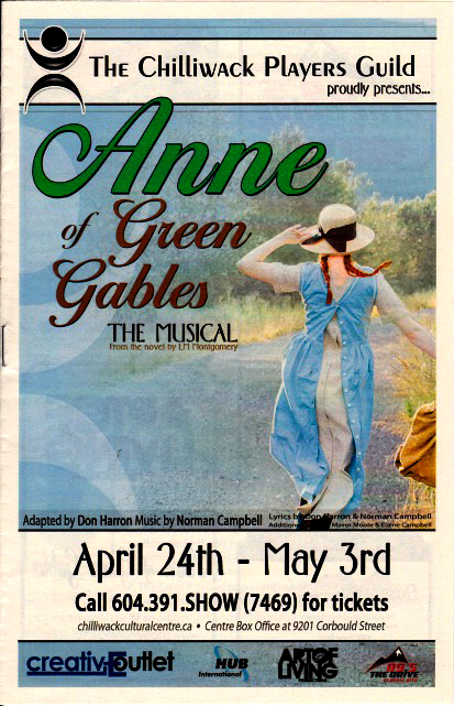 Anne of Green Gables -- the Musical