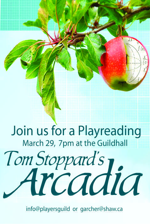 Playreading - Arcadia by Tom Stoppard