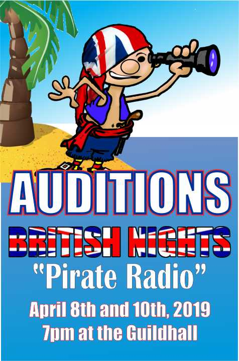 BRITISH NIGHTS Pirate Radio AUDITIONS
