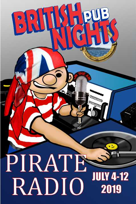 BRITISH NIGHTS 2019  PIRATE RADIO