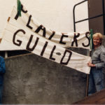 1985 Rita and Patti moving into the Arts Centre