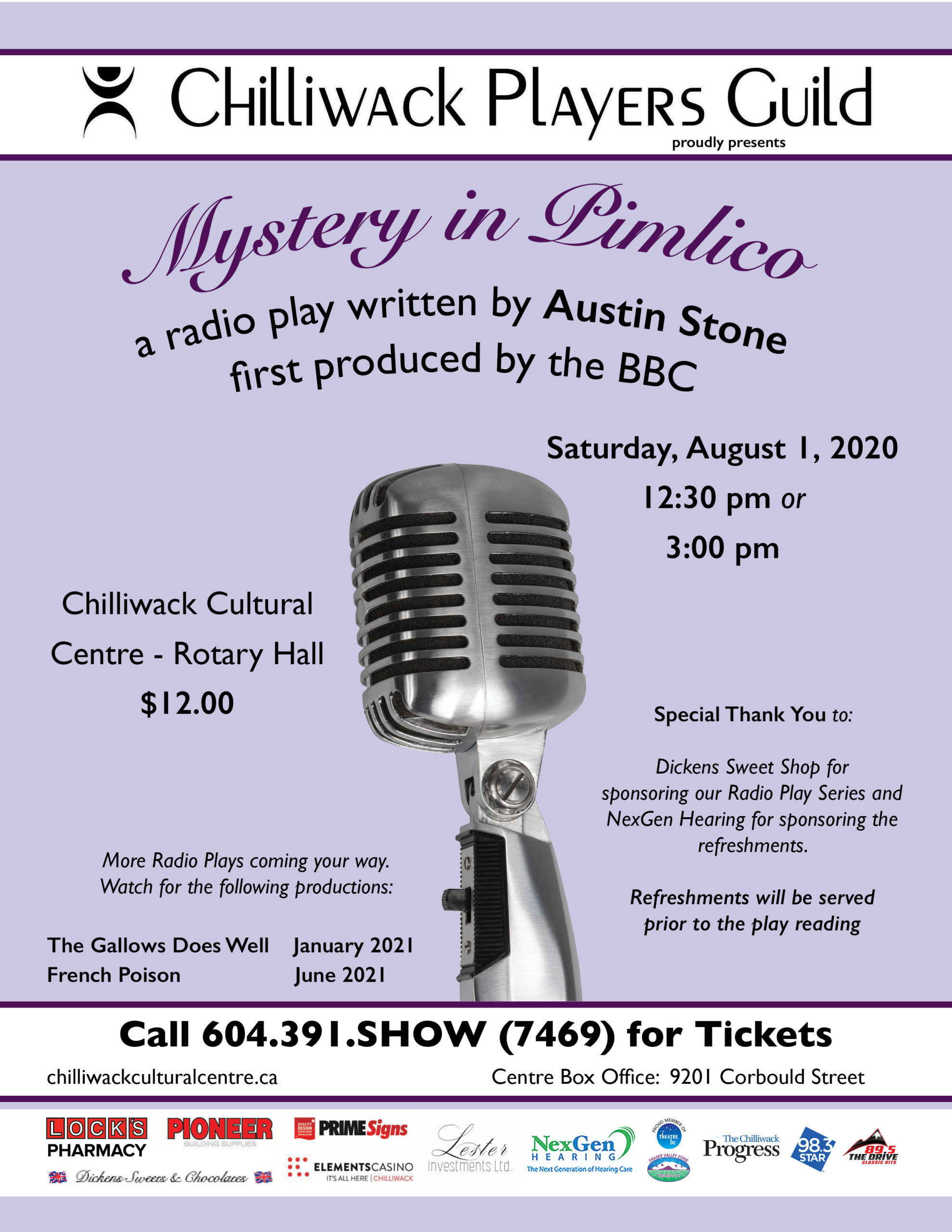 Mystery in Pimlico - Radio Play