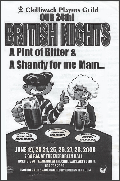 24th British Night: A Pint of Bitter